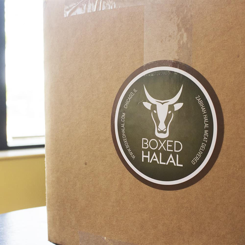 [Image description: Boxed Halal box on arrival, before it's opened.] Courtesy of author.