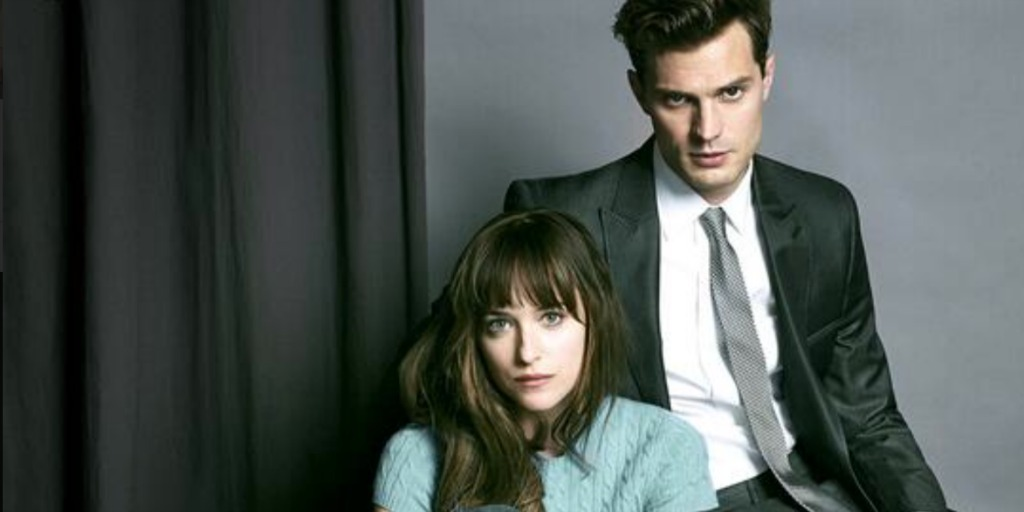 Fifty Shades of Grey stars.