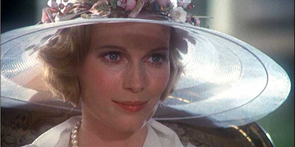 Mia Farrow in the 1974 Great Gatsby.