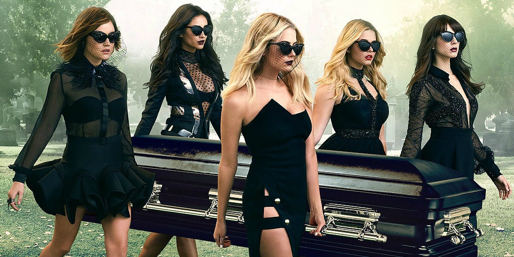 The four Pretty Little Liars