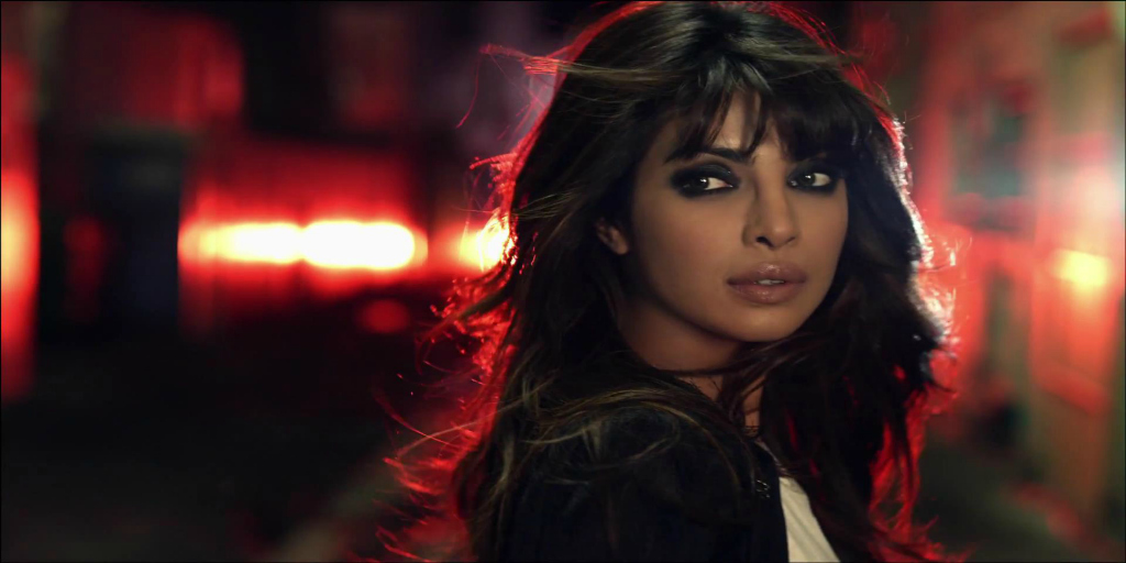 Actress Priyanka Chopra in Quantico.