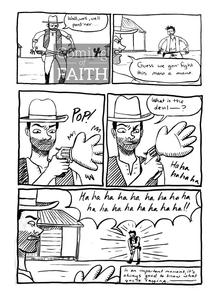 Fight one on one Comic