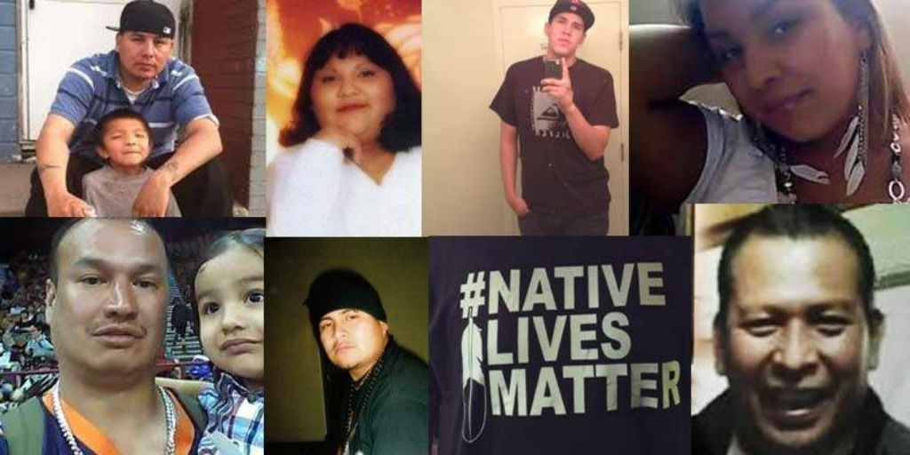 Native Americans who have been killed by police recently.