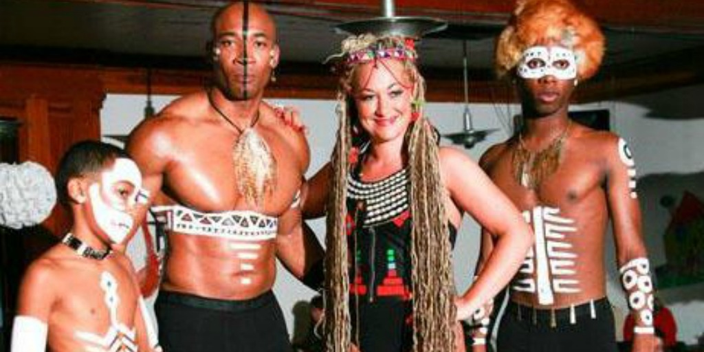 Rachel Dolezal in blackface as an example of suppression of blackness in America