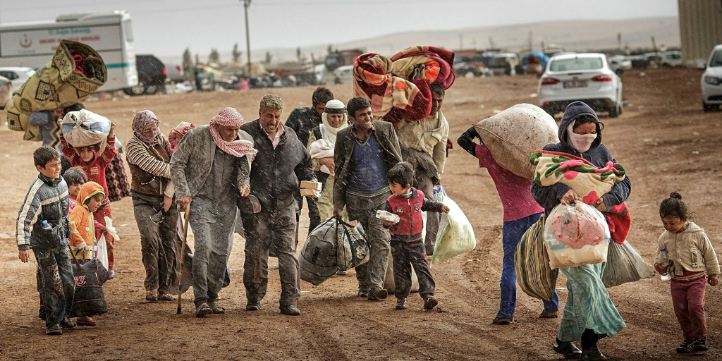 Heartbreaking images from the Syrian refugee crisis.