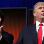 Potential presidential candidates at a GOP debate.