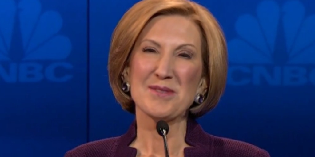 Carly Fiorina announces her candidacy for president.