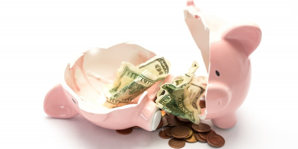 Wage inequality means some people never get the chance to fill their piggy banks.