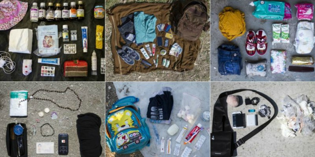 If you were forced to flee your country, what would you take?