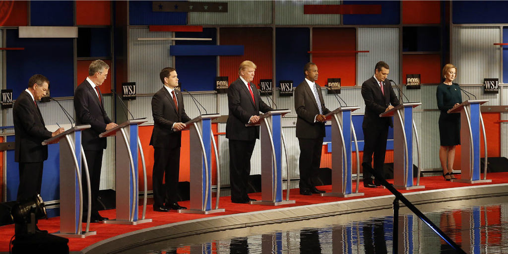 Republican primary debate, 2015