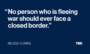 Melissa Fleming Quote