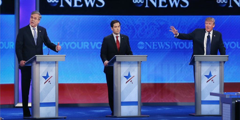 The recent Republican Debate was the nastiest yet