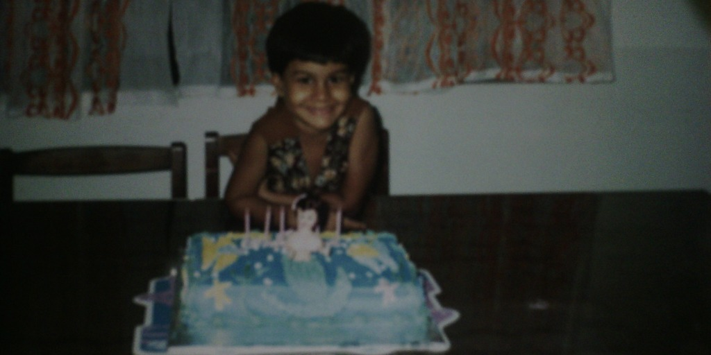 saffiya's birthday when she was young