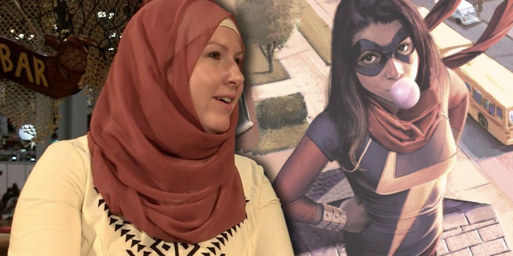 Ms. Marvel is about a Muslim, Pakistani, and American Superhero.
