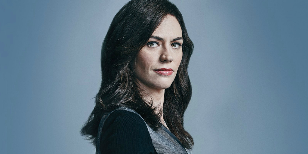 "Maggie Siff as Wendy Rhoades in ""Billions"""