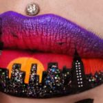 This beauty blogger's lip art will have you licking your lips