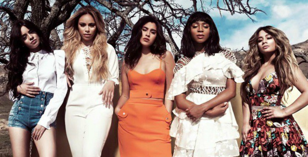 Members of the diverse girl group, Fifth Harmony.