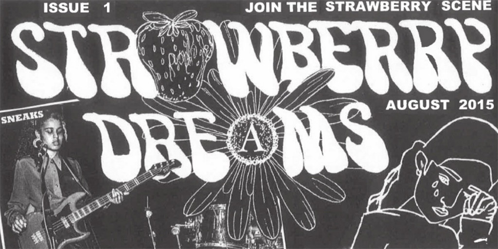 "Cover of zine ""Strawberry Dreams"""
