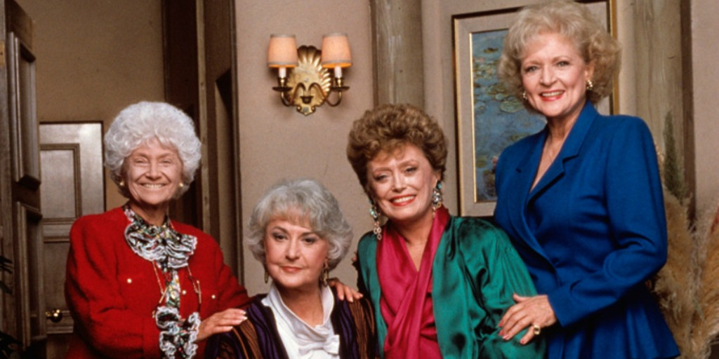 A picture of the Golden Girls.