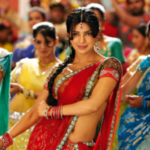 Bollywood actress stars in a dance number.