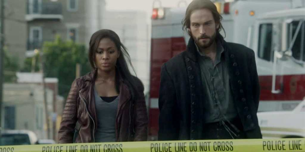 Nicole Beharie and Tom Mison from Sleepy Hollow.