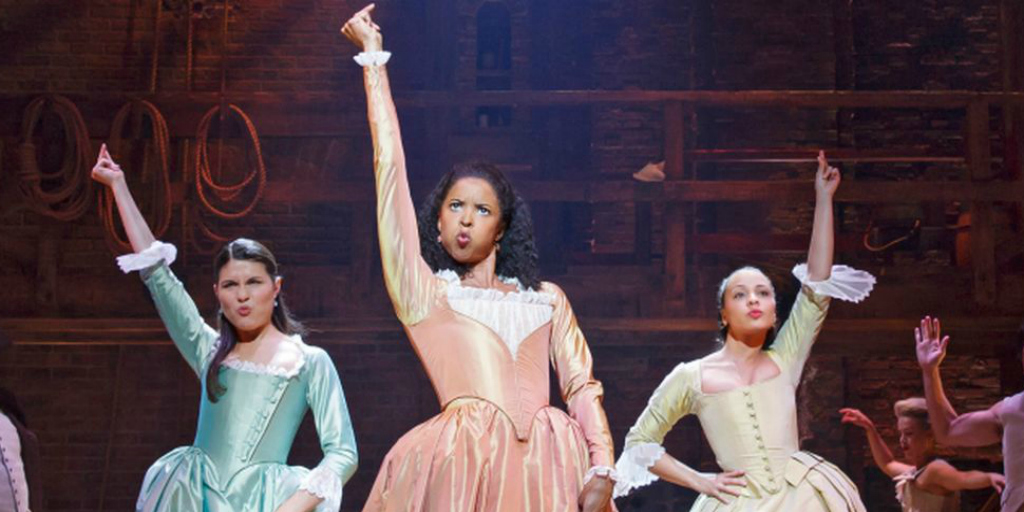 "Meet the fabulous women of color in ""Hamilton"""