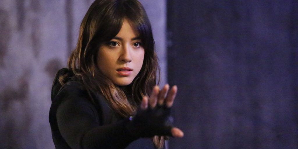 "Chloe Bennet as Daisy Johnson in ""Agents of SHIELD"""