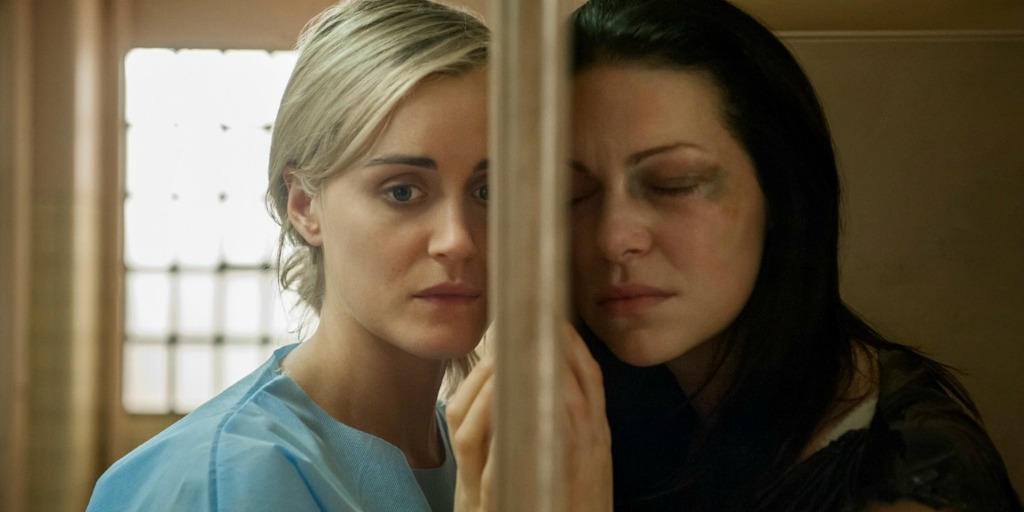 Piper Chapman and Alex Vause.