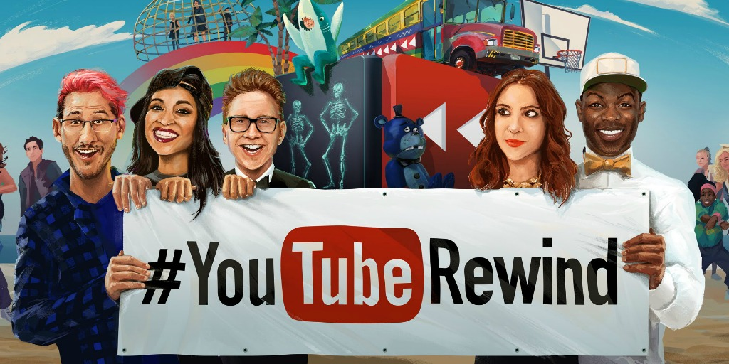 #YouTubeRewind Graphic Image