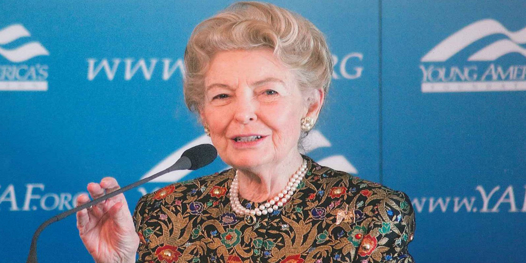 Here are Phyllis Schlafly's 10 most controversial moments