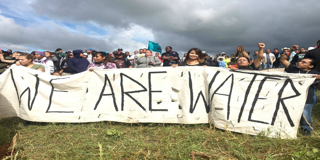 Why aren't you protesting the Dakota Access Pipeline?