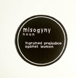 Misogyny Embroidered Patch