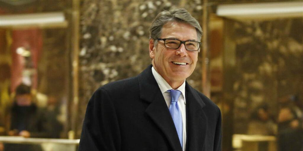 Here's why you should worry about Rick Perry running the Department of Energy