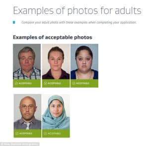 Examples of photos for adults