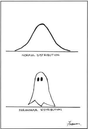 normal vs paranormal distribution