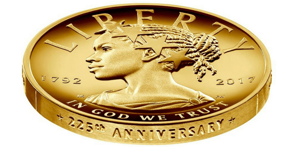 Lady Liberty Coin featuring Harriet Tubman