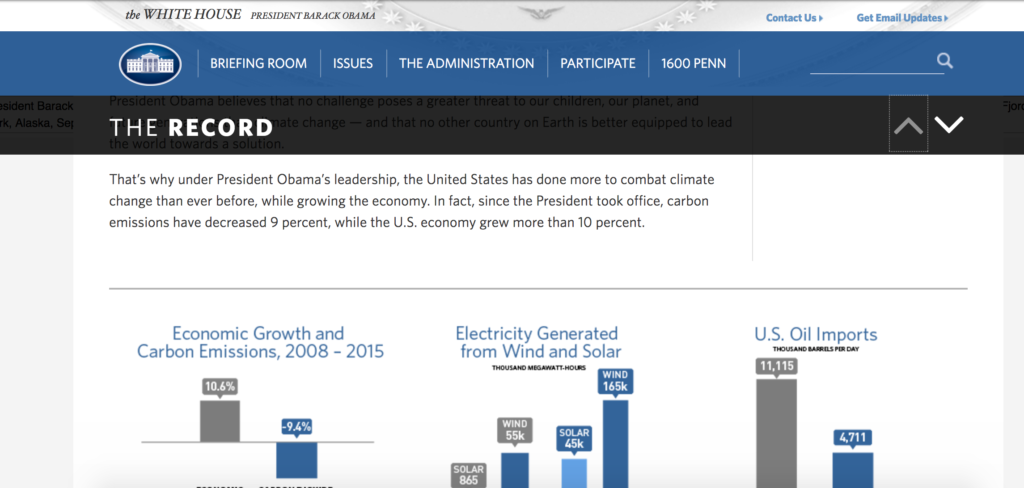 The Record Screenshot of web archives