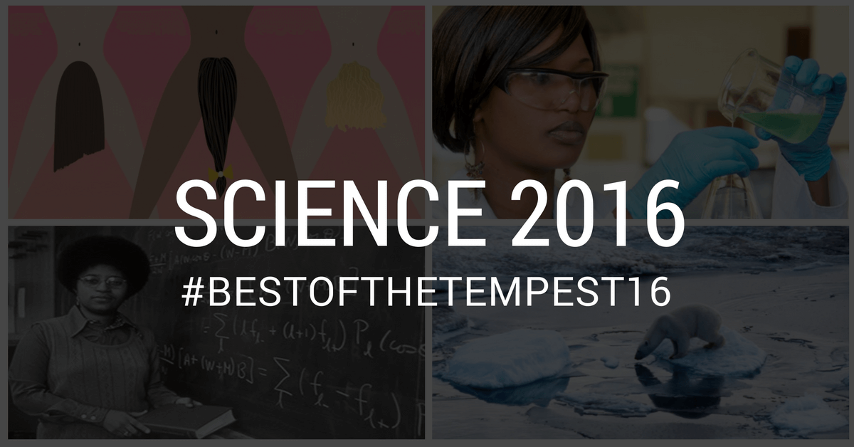 Time to drop some serious knowledge: The best of Science 2016
