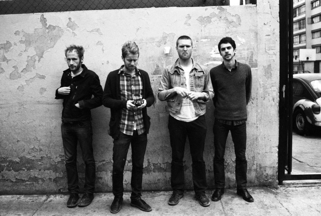 Cold War Kids photo of band
