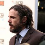 Casey Affleck on the Manchester by the Sea set