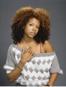 Picture of the artist Kelis.