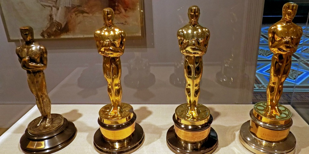 Oscars on display