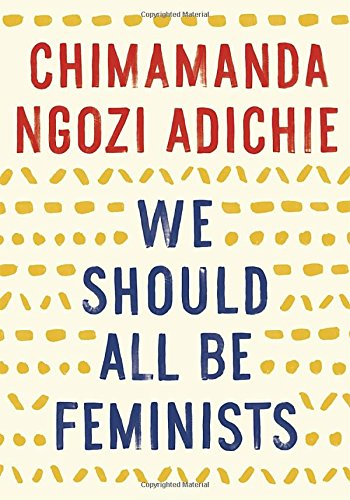 """book """"We Should All be Feminists"""""""