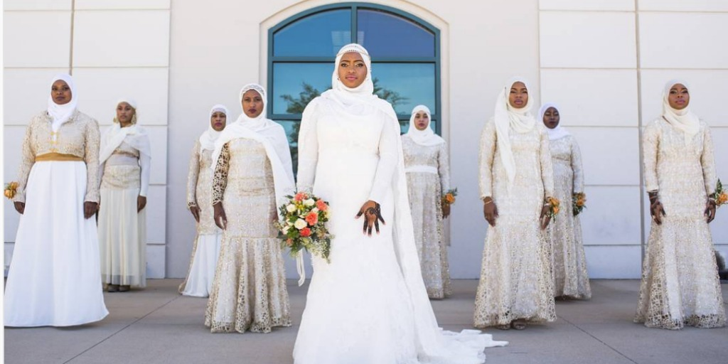 Muslim Bridesmaid Dresses | 23 Impossibly Pretty Muslim Bridesmaids Killing The Game Right Now