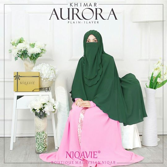 niqavie green niqabi