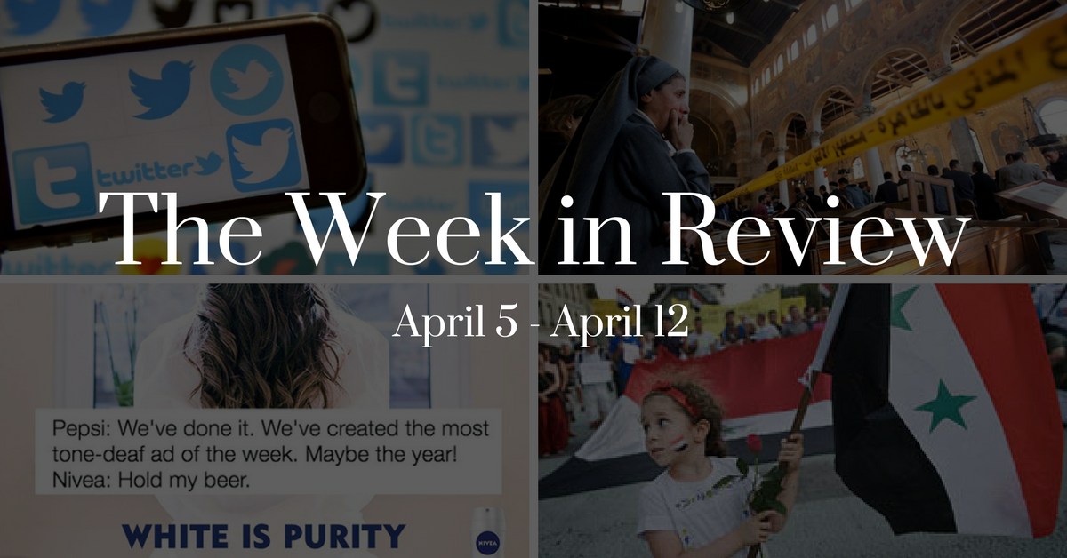 Syria Airstrikes, Supreme Court Confirmation, and Dangerous Advertising: The Week in Review