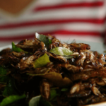 I tried eating crickets for dinner –  this is what actually happened