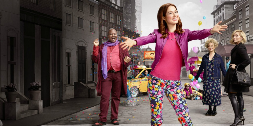 Promotional banner for Unbreakable Kimmy Schmidt Season 3