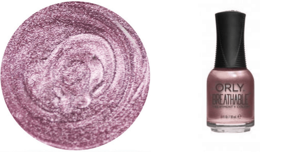 [Image description: Swatch and bottle of Orly nail polish.] via Orly.com