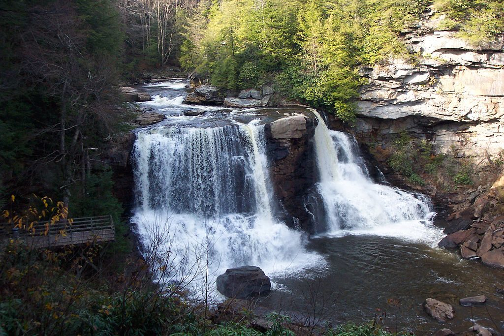 beautiful places, blackwater falls